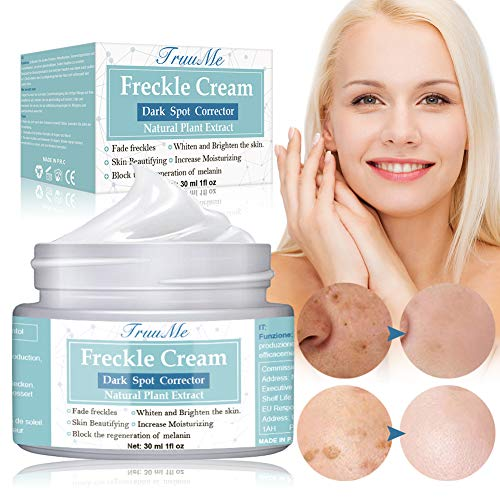 Dark Spot Corrector, Freckle cream, Melasma Cream, Natural Gentle Skin Brightening & Bleaching Cream for Face Fade Hyperpigmentation Remover Dark Spots, Repair Damaged Skin