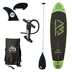 Aqua Marina Inflatable Stand-up Breeze Paddle Board with Paddle