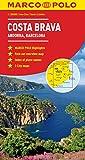 Costa Brava Marco Polo Map (Marco Polo Maps)