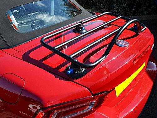 Fiat 124 Spider Trunk Rack Unique Design, No Clamps No Straps No Brackets No Paint Damage