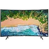 سامسونج 65 انش منحني تلفزيون ذكي اسود - Samsung 65 Inch UHD Curved Smart TV - UA65NU7300
