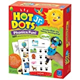 Educational Insights Hot Dots Jr. Phonics Fun Set, 160 Lessons, Homeschool & School Readiness, Interactive Pen Included, Ages 3+