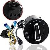 vw auto headlights - Auto Turning On/Off Headlight Headlamp Sensor Switch for VW Golf / Tiguan / Jetta Passat ...