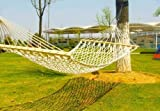 MallMall Portable Singal Hammock Tree 1 People Person Patio Bed Swing New Cotton Rope Outdoor