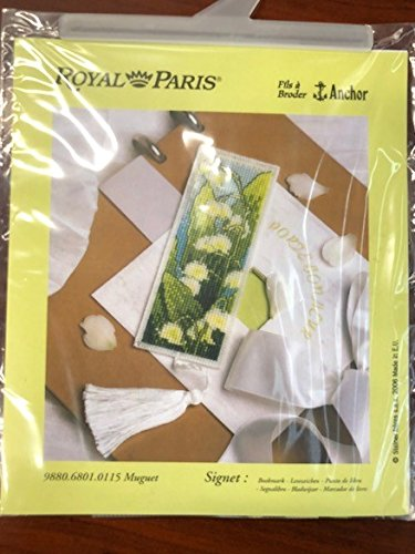 Royal Paris Muguet Bookmark Needlepoint - Royal Needlepoint Paris