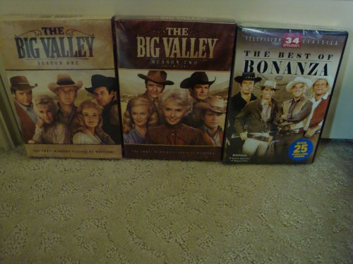 (The Big Valley Season 1 & 2 and the Best of Bonanza 34 Classic Episodes)