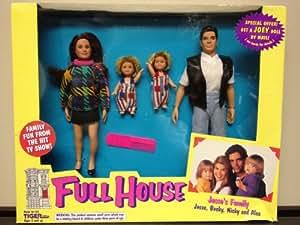 Full House Jesse's Family Dolls with Jesse, Becky, Nicky and Alex Dolls