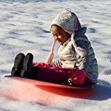 Flexible Flyer F26 Foam Snow Saucer Sled. Round SNO