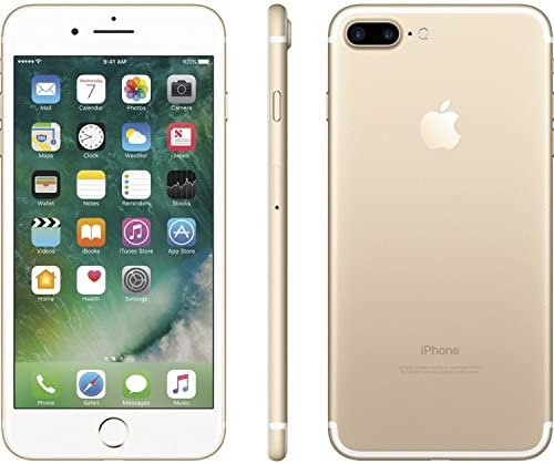 Apple iPhone 7 Plus, 128GB, Gold - For AT&T / T-Mobile (Renewed)