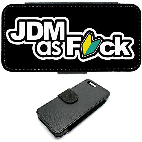 iPhone 5C, JDM als Fck Wallet Tasche Drift illest Honda Mazda Mitsubishi Nissan Subaru
