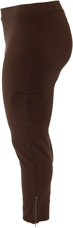 Lisa Rinna Collection Petite Cargo Leggings Zip A285575