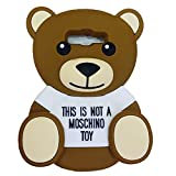 Jicheng Electronic Samsung Galaxy Grand Prime G530 Moschino Bear Case,3D Cartoon Cute Moschino Baby Bear Teddy Silicone Case for Samsung Galaxy Grand Prime G530H