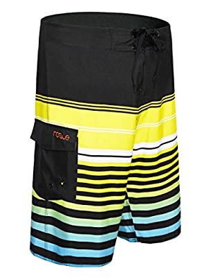 Nonwe Men's Summer Casual Swimming Shorts Beach Board Shorts