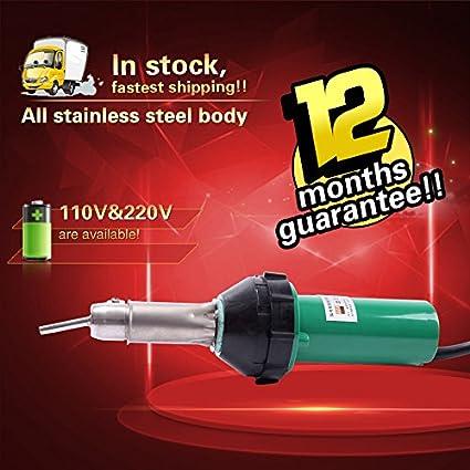 Yoli® Nuevo 1600 W plástico soldador pistola, pistola de aire caliente plástico soldador/