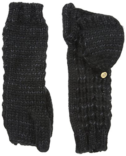 Coal Women's The Kate Flip Mitten, Black, One Size