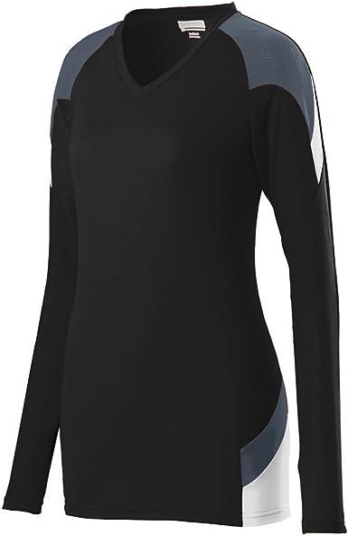 TALLA S. Augusta Sportswear de Las niñas de Manga Corta