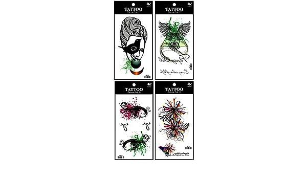 Último diseño de Nueva y caliente venta realista Tattoo Stickers 4 ...