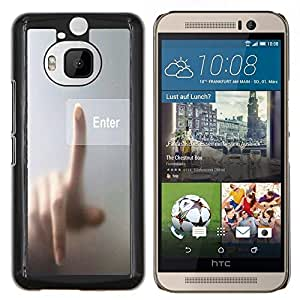 Dragon Case - FOR HTC One M9+ / M9 PLUS - couldn??t handle the truth - Caja protectora de pl??stico duro de la cubierta Dise?¡Ào Slim Fit