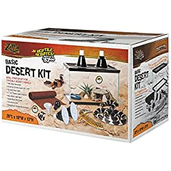 Zilla Desert Reptile Starter Kit 10 with Light and Heat