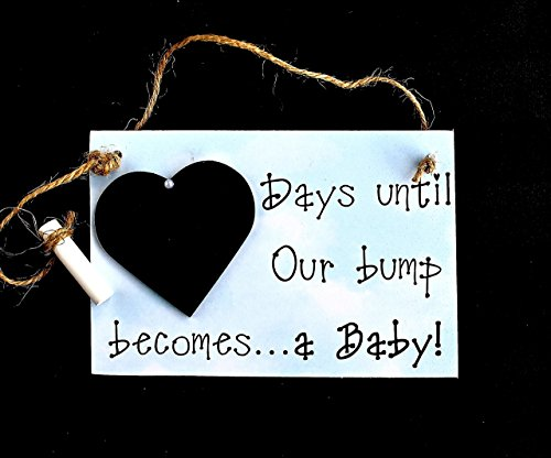 Pregnancy Countdown Sign