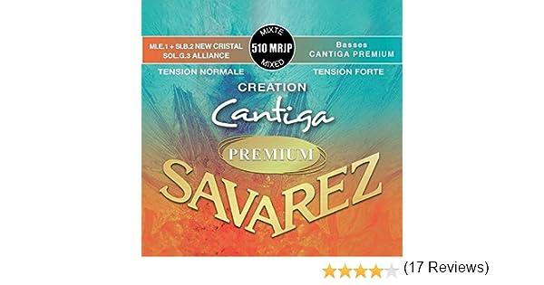 Savarez 510Mrjp Cuerdas para Guitarra Clásica Creation Cantiga ...