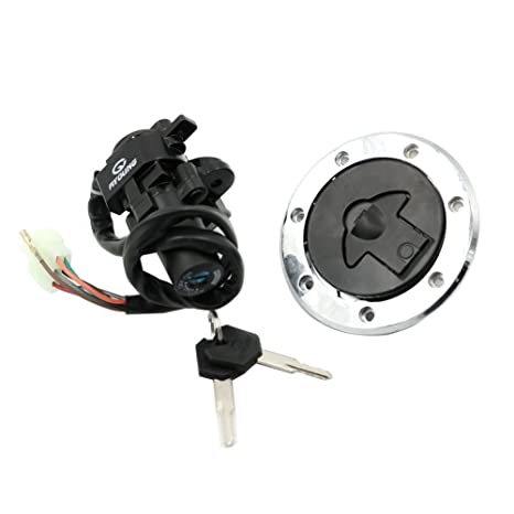 Amazon.com: Alpha Rider Motorcycle Ignition Switch Lock Fuel ...