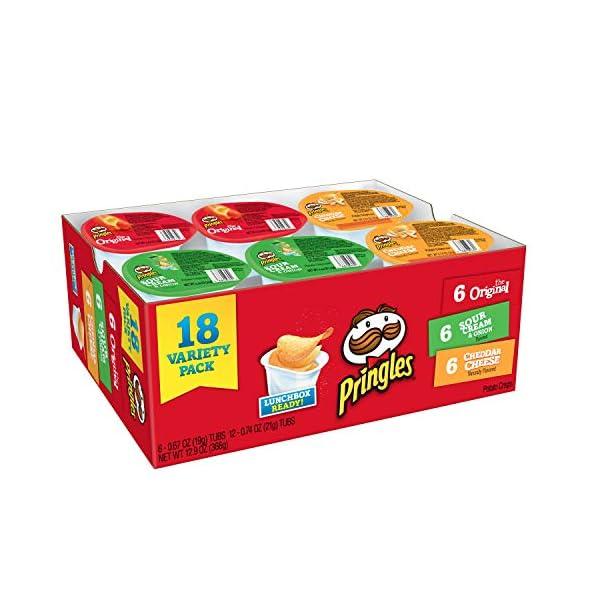 Pringles Snack Stacks ZAZ Variety Pack, 48 Cups