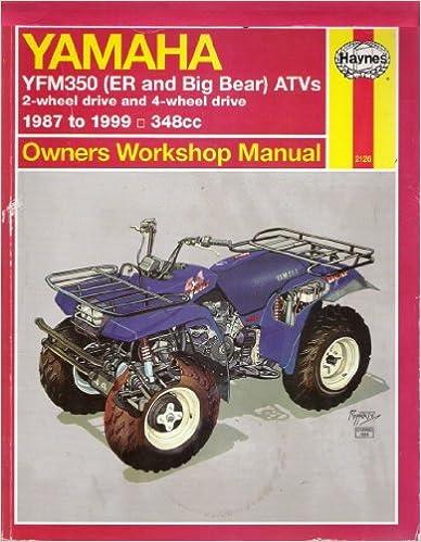 Free pdf books for download Haynes Yamaha YFM350 Big Bear & ER (Haynes Owners Workshop Manual) PDF
