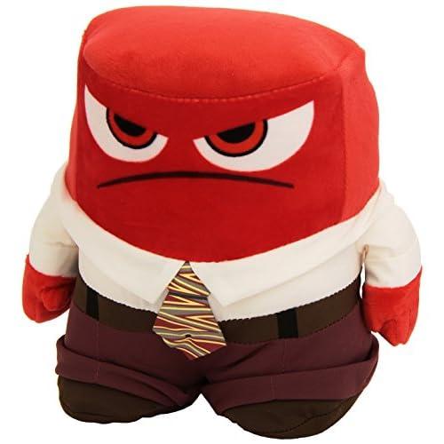 Disney Pixar de à l'intérieur et à l'extérieur–Anger 25,4cm en peluche dans une boîte de présentation