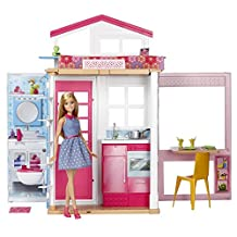Barbie Doll House with Doll