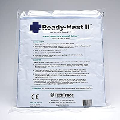 "Tech Trade LLC Ready Heat II First Responder Blanket - 34"" x 48"" - Model G12RH2 - Each"
