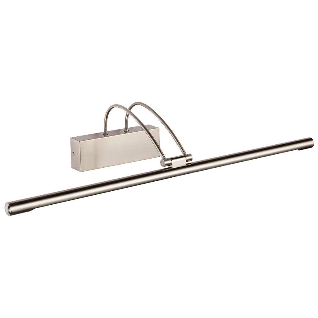 MIAOLIDP Spiegelfrontlampe Amerikanisches Retro- Badezimmer führte einfache Wasserdichte Badezimmerspiegelkabinettlampe Europäische Wandlampenverfassungslampe Schminktischlampe (Größe   55cm 12w)