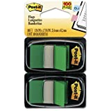 6 Pack Standard Tape Flags in Dispenser, Green, 100 Flags/Dispenser by 3M (Catalog Category: Labels, Label Makers, Tags & Stamps / Tape Flags)