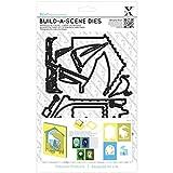 DOCrafts Xcut Build-A-Scene Dies 8/Pkg-Shadow Box Seaside