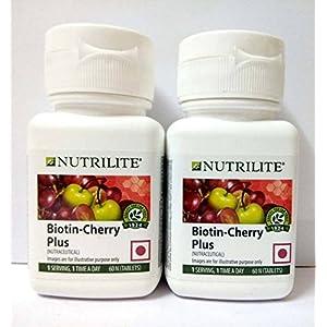 Amway Nutrilite Biotin Cherry Plus Pack Of 2 ( Packaging May Very)