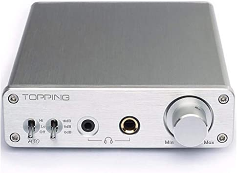Topping HiFi Desktop Headphone Amplifier 3.5mm//6.35mm Headphone Output