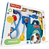 Fisher-Price Boy Doctor Medical Kit [ 3 years and up ] {Be prepared for any medical emergency with the Fisher-Price Medical Kit)
