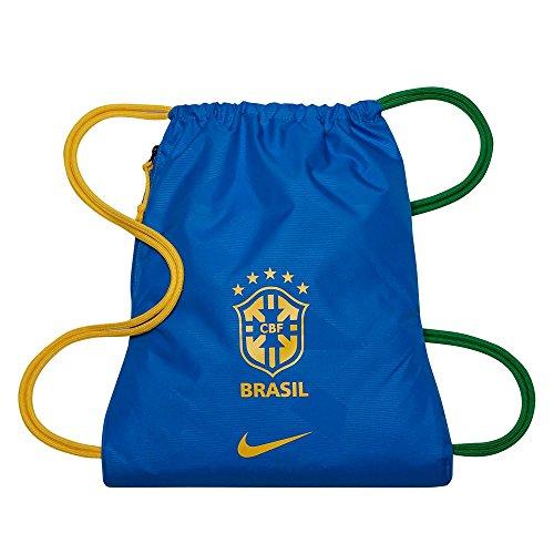Nike 2018-2019 Brazil Allegiance Gym Sack (Blue)