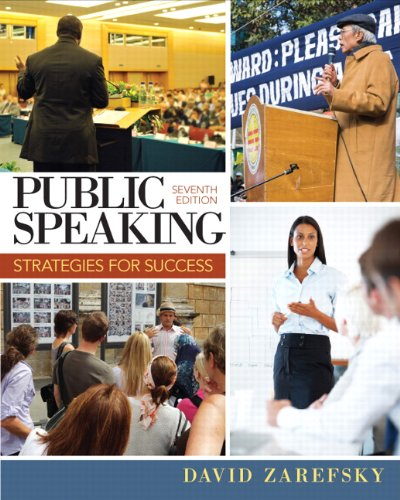 Public Speaking: Strategies for Success (7th Edition) by Pearson