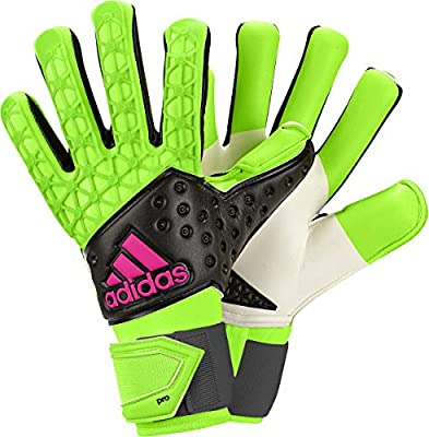 766b196d72 Adidas Goalkeeper Gloves for Unisex, Size 9 US, Yellow: Amazon.com