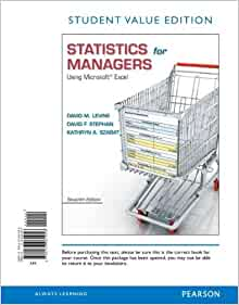 statistics for managers using microsoft excel 7th edition pdf download