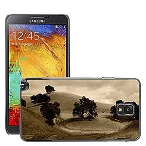 Etui Housse Coque de Protection Cover Rigide pour // M00117073 Campo árboles Campo Hills // Samsung Galaxy Note 3 III N9000 N9002 N9005