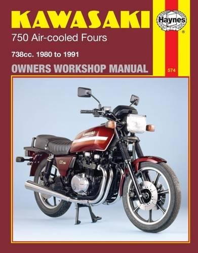 Kawasaki 750 Air-Cooled Fours, 1980-1991 (Owners Workshop Manual)
