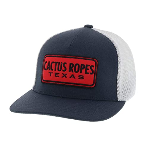 "8027abfcf HOOey ""Cactus Ropes"" Charcoal/Gray Flexfit Mesh Hat"