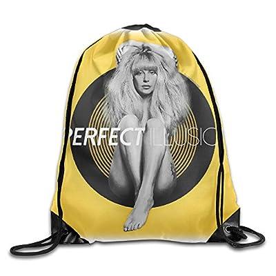 Lady Gaga Perfect Illusion Fashion Outdoor Backpack Drawstring