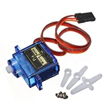 J-Deal® SG90 Micro Servo Motor 9G RC Robot Helicopter Airplane Boat Controls Controller