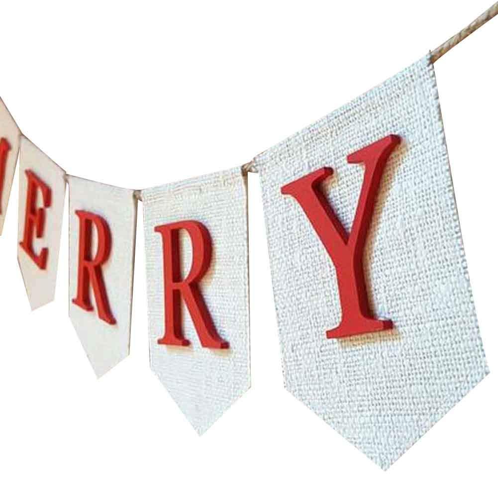 Amazon.com: One Mmore Merry Christmas - Banderines de ...