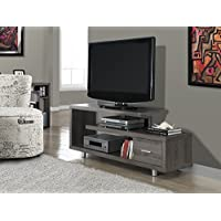 Dark Taupe Reclaimed-Look 60L TV Console