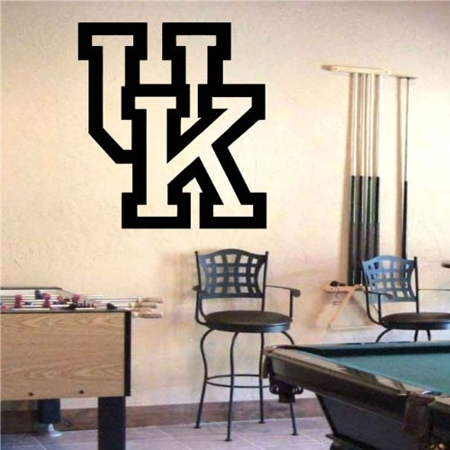 fan products of Ncaa Wall Mural Vinyl Sticker Sports Logos Kentucky Wildcats (S327)