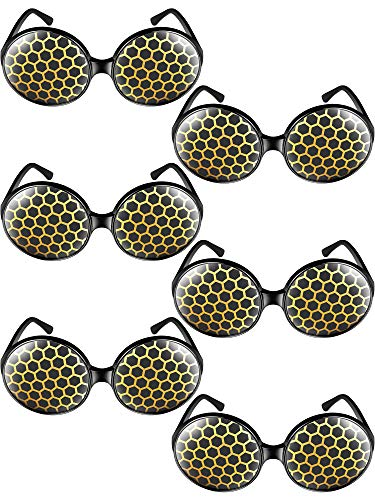 Frienda 6 Pieces Halloween Bug Eyes Sunglasses